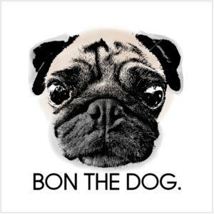 BON THE DOG.